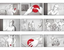 Storyboard bl/w digital