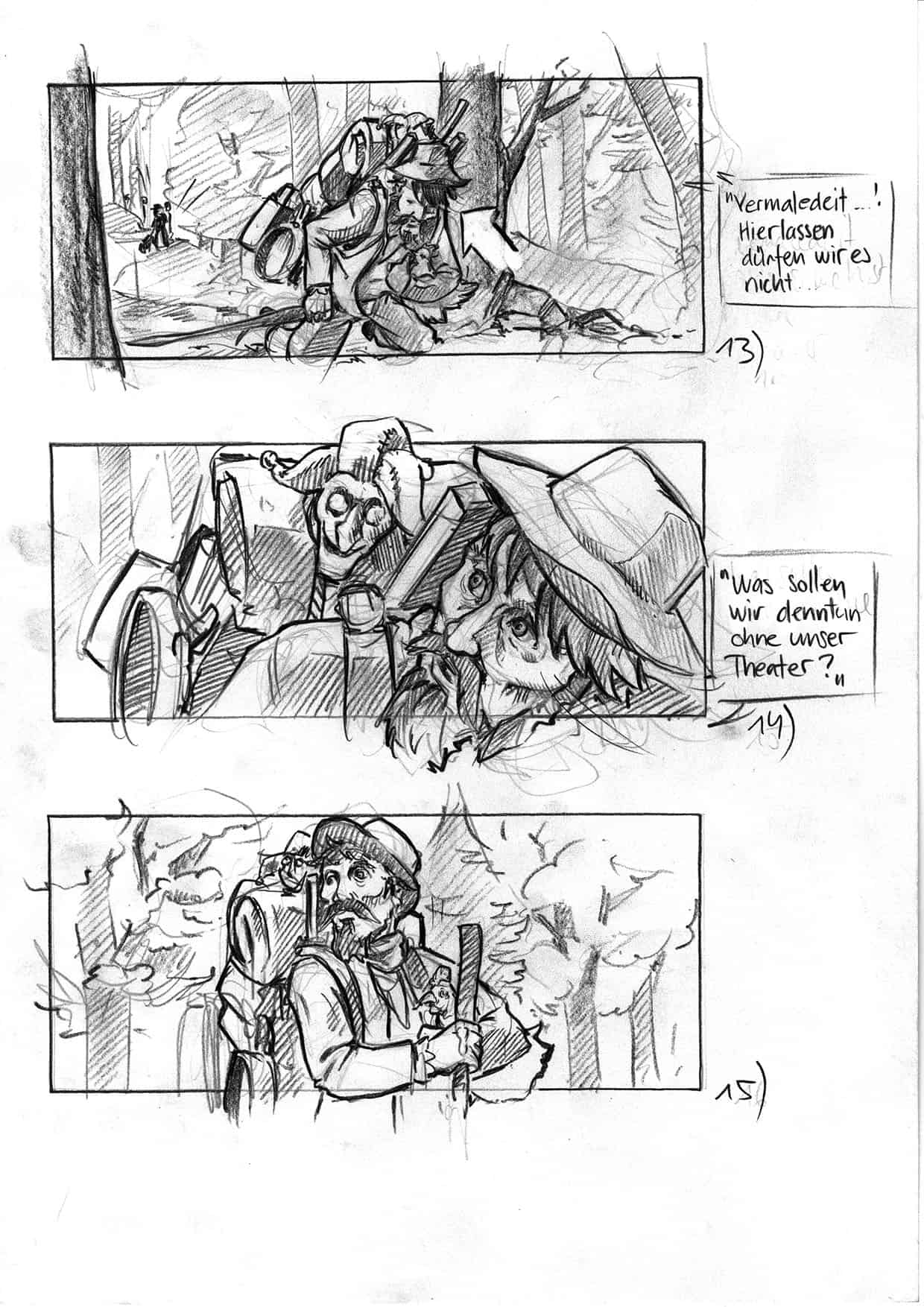 Storyboards And Visualizations For Movies